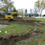 Grecian Pool Excavation in Muskego