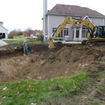 Finishing Up Shallow End Pool Dig