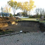 Grecian Pool Dig in Muskego, WI