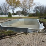Vermiculite Bottom done on Grecian Muskego Pool