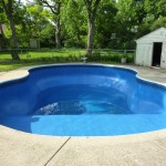 Free Form Figure 8 Swimming Pool with New Liner