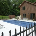 Rectangle Fiberglass Swimming Pool with Auto Cover