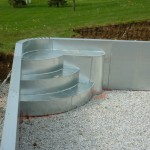 New Berlin WI Pool Steps with Bench for Vinyl Liner Pool