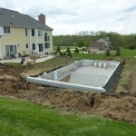 Excavation for Inground Swimming Pool in New Berlin WI