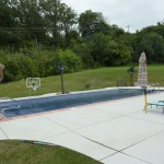 New Berlin Vinyl Liner Pool with Auto Cover