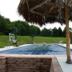 Sunken Pool Lounge with Auto Cover in New Berlin WI