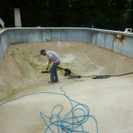 Fixing the Vermiculite in a Vinyl Liner Pool
