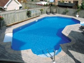 inground vinyl liner pool designs