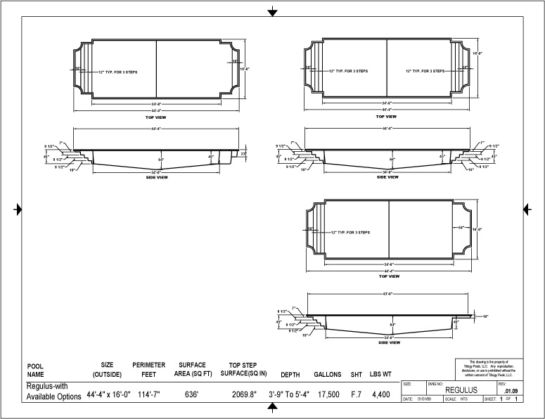 Fiberglass Swimming Pool Designs montego medium inground fiberglass viking pool 4 Fiberglass Swimming Pool Builders Waukesha