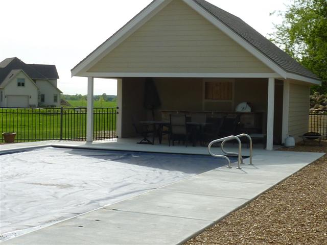 Susses WI Open Air Pool House