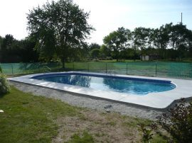Double Roman Vinyl Liner Pool Designs Merton, WI