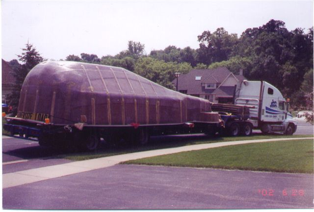 Fiberglass Pool Construction Delivery Milwaukee