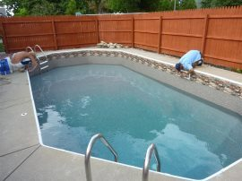 Grecian Rectangle Vinyl Liner Designs Pewaukee, WI