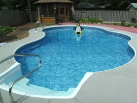 Oasis Vinyl Liner Pool Designs Sussex, WI