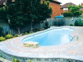 Straight Kidney Vinyl Liner Pool Designs