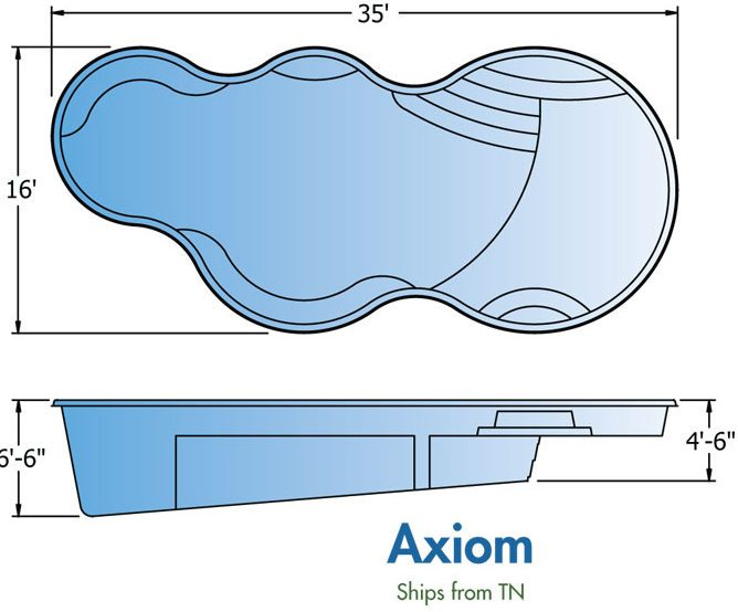 Trilogy Fiberglass Pool Prices Axiom Pewaukee