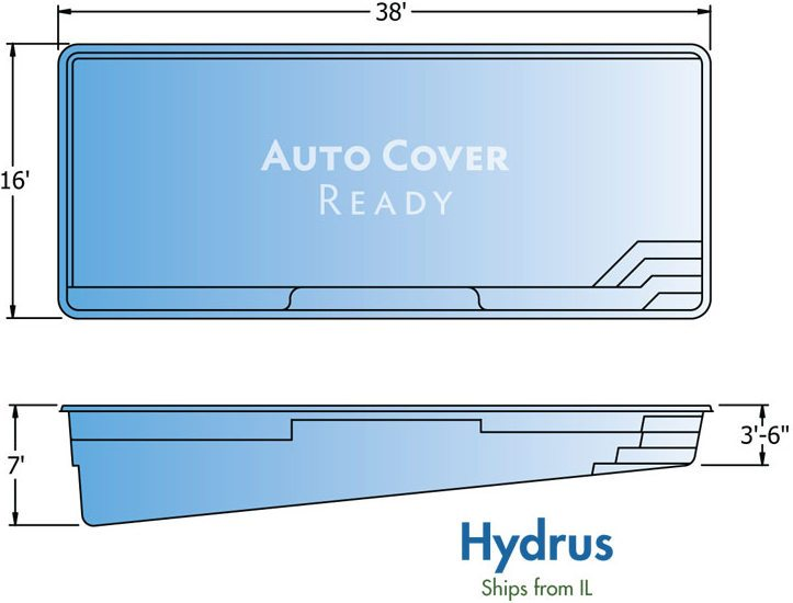 Fiberglass Pool Designs Hydrus