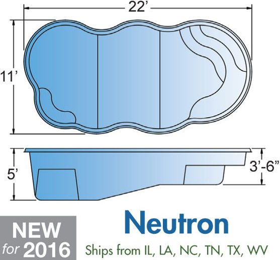 Neutron Fiberglass Pool Designs Brookfield
