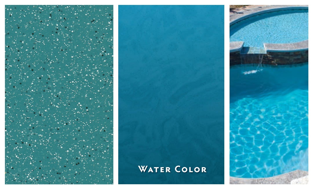 Stellar Trilogy Fiberglass Pool Color