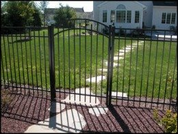 Arched Pool Fencing Gate Menomonee Falls