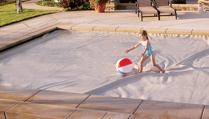 Automatic Pool Cover Safety
