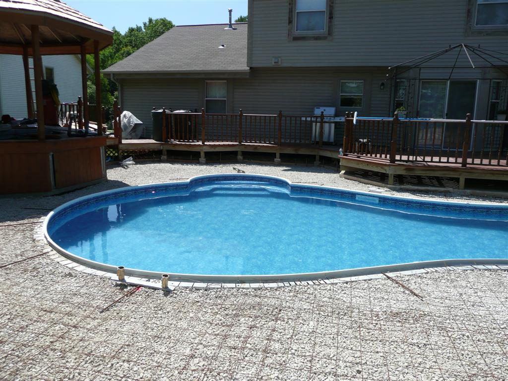 Custom Inground Pool Steps Muskego