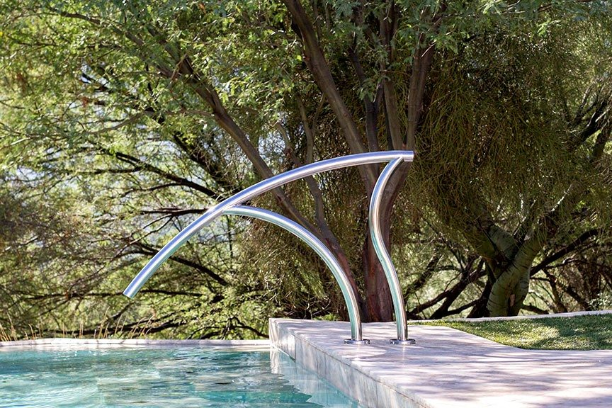 Pool Ladders and Designer Rail