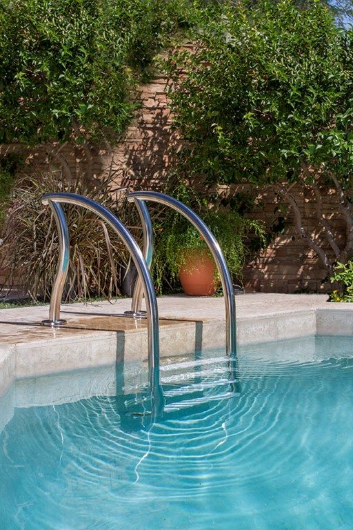 Designer Pool Ladders Rails