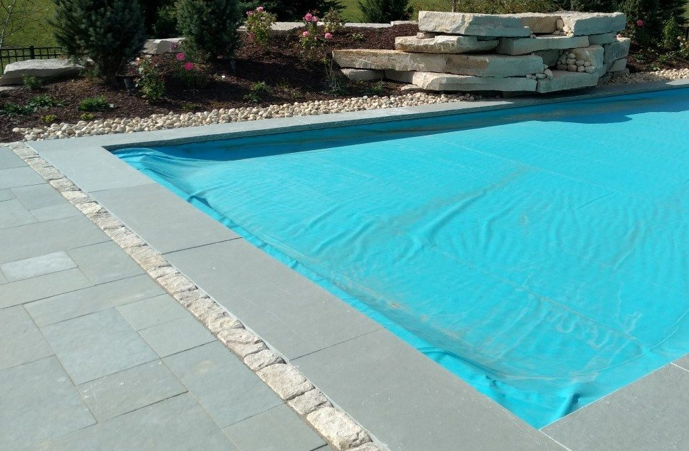Stone Automatic Pool Cover Lid Milwaukee WI