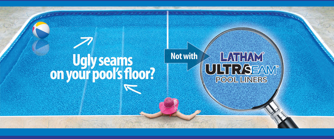 Inground Vinyl Liner Patterns Featuring Ultra Seam From Penguin Pools