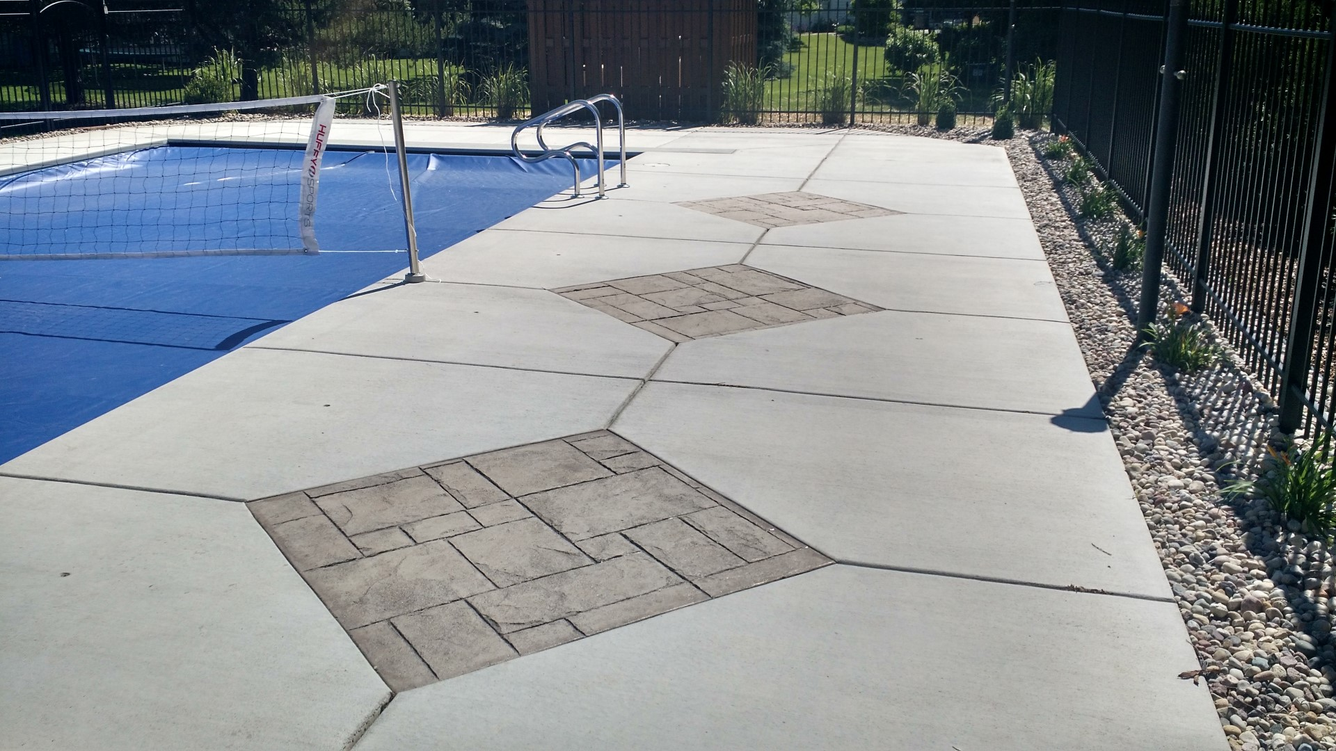 Pool Decking Inlay Brookfield, WI