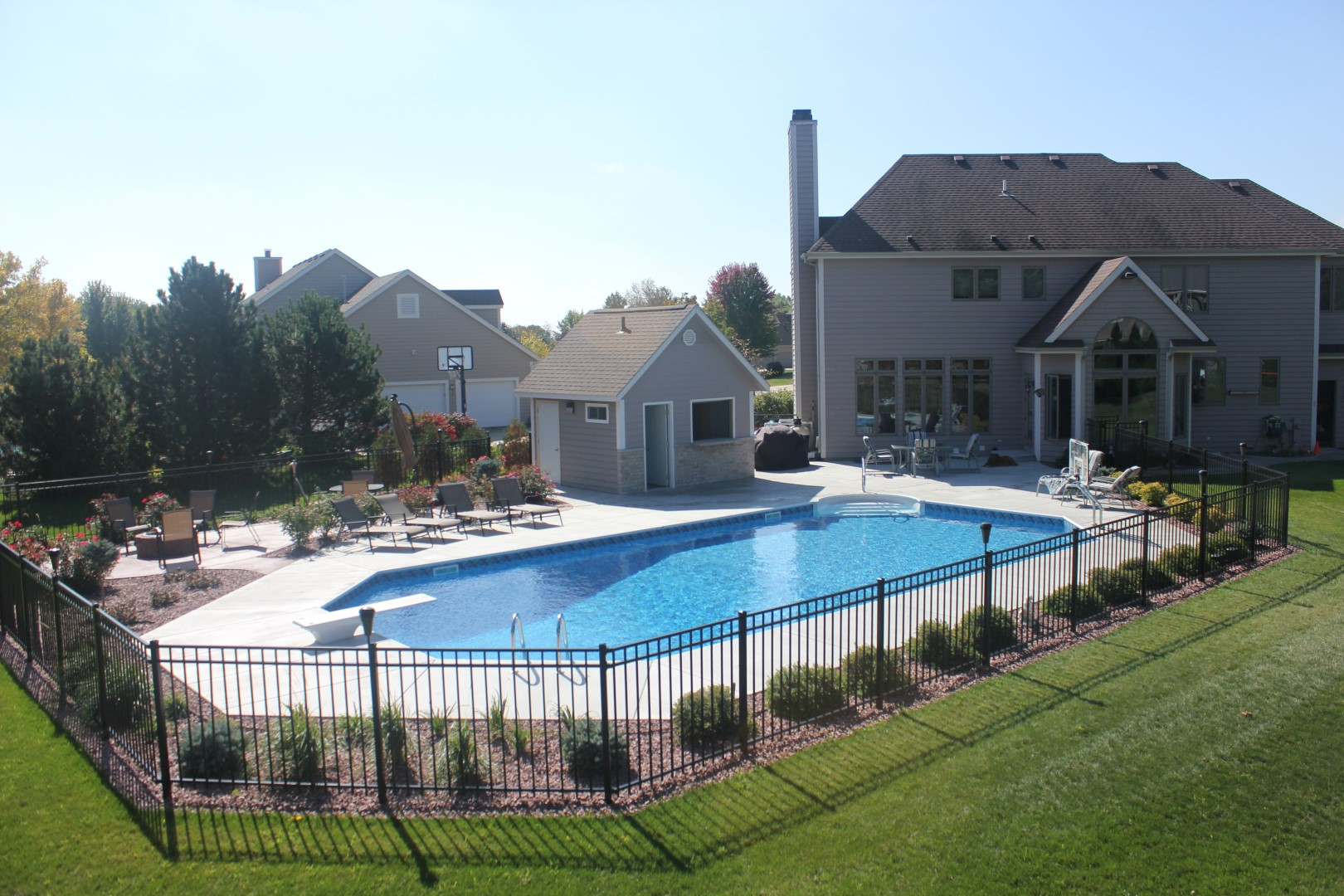 Completed Inground Pools by Penguin Pools -Your Complete Pool Builder