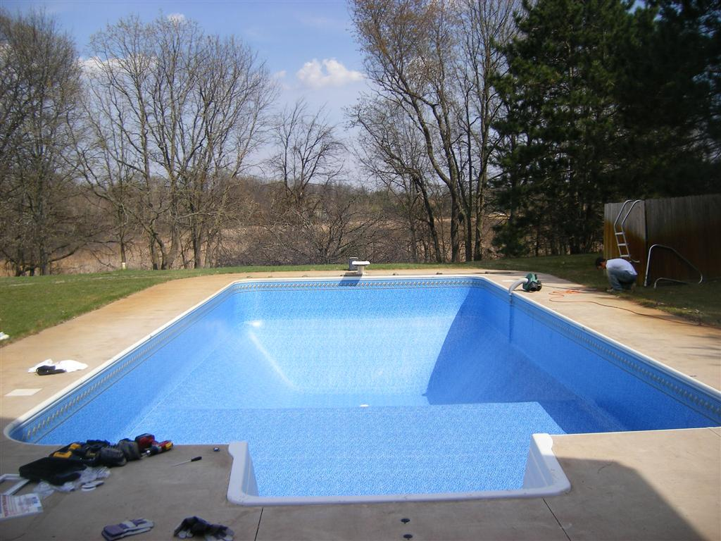Rectangle Pool Liner Replacement