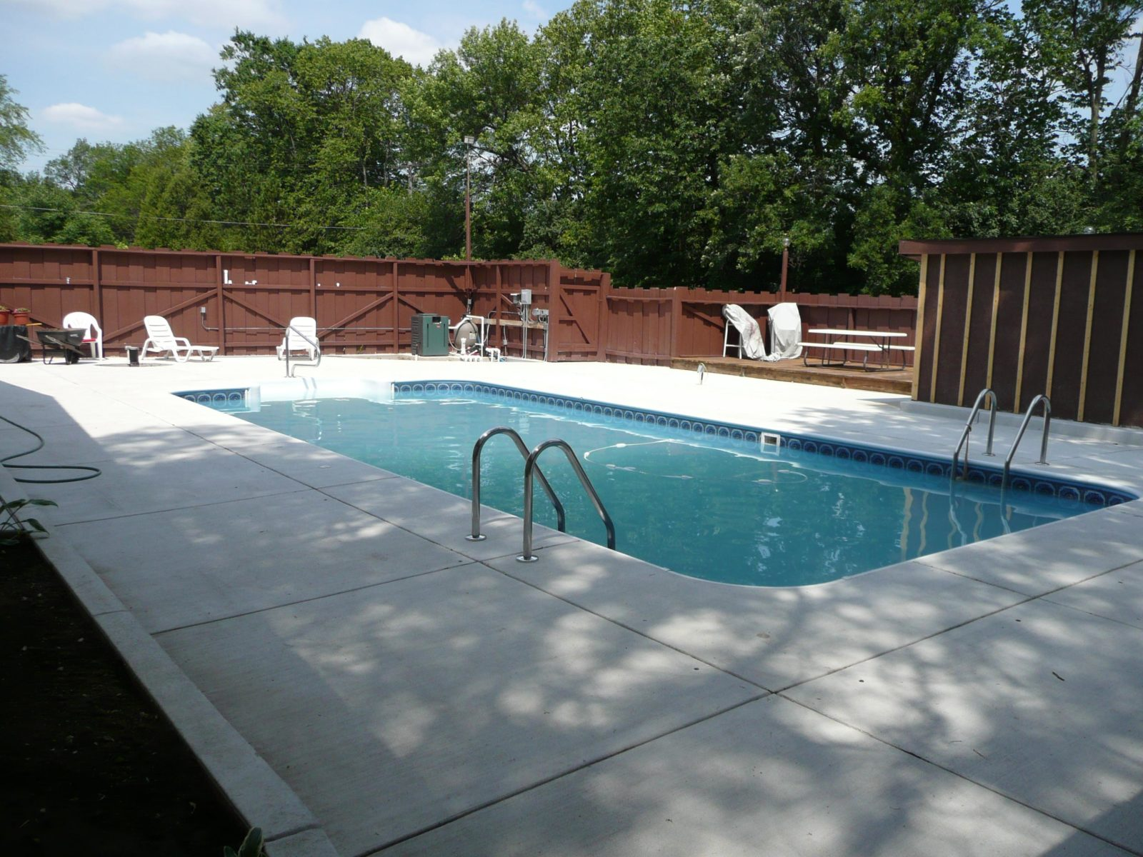 Remodeled Pool in Milwaukee