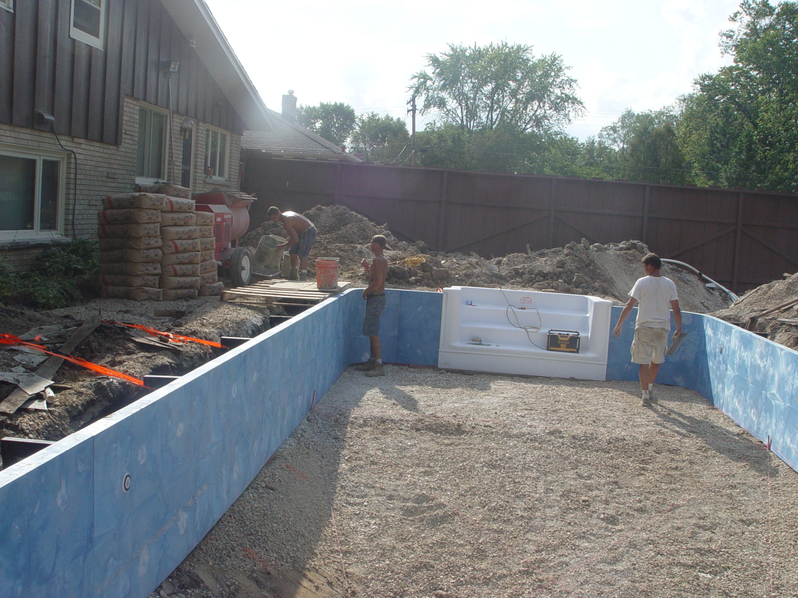 New Polymer Pool Walls Delafield